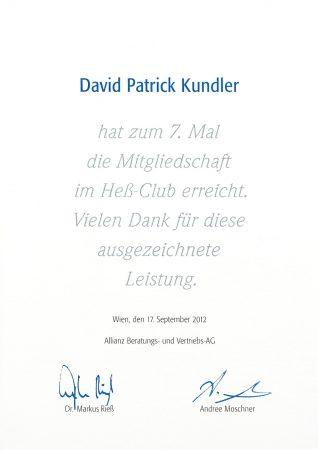 Heß Club 2012