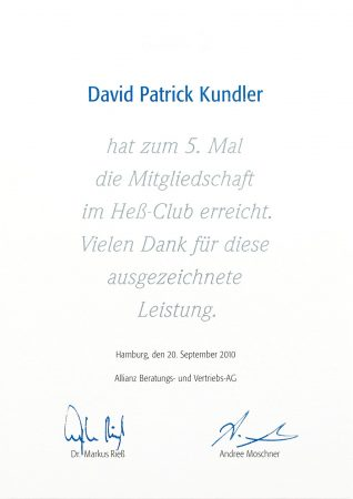 Heß Club 2010