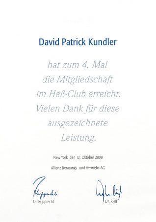 Heß Club 2009