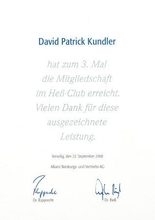 Heß Club 2008