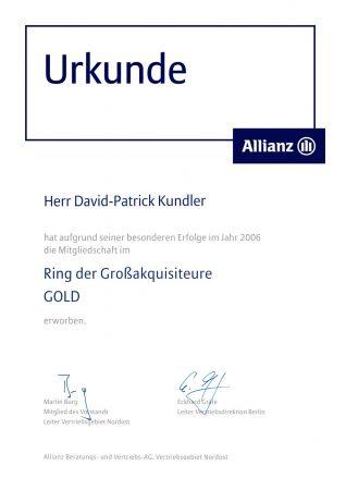 krunde Ring Großakquisiteure 2006