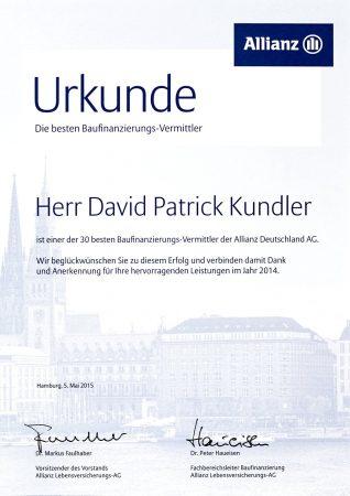 Kundler Ukrunde Baufinanzierung 2014