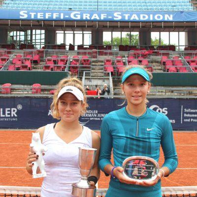 Allianz Kundler German Juniors 2018 Tennis Damen Siegerehrung - Allianz Versicherung Berlin © Patrick Becher