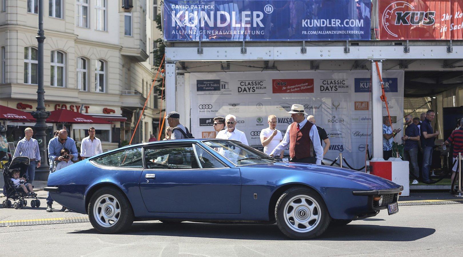 Oldtimer auf dem Kudamm Berlin - Classic Days 2018 Allianz Kundler