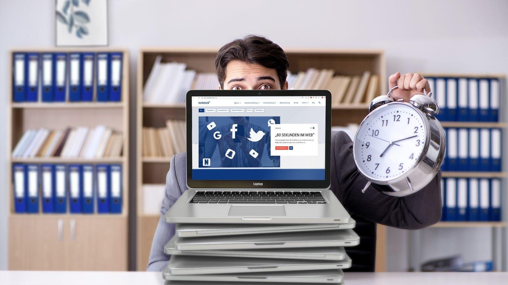 Allianz Kundler Erklärt - 60 Sekunden im Web. Von Newsletter bis hin zu Twitter. Hier findet digitales Marketing in 2019 statt. #KundlerErklärt